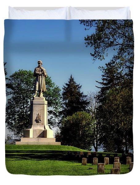 Private Soldier Monument - Antietam Duvet Cover
