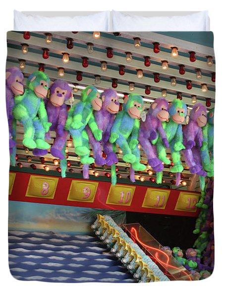 Prize Monkeys Duvet Cover