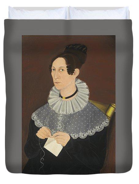 Probably Sarah Cook Arnold Knitting Duvet Cover