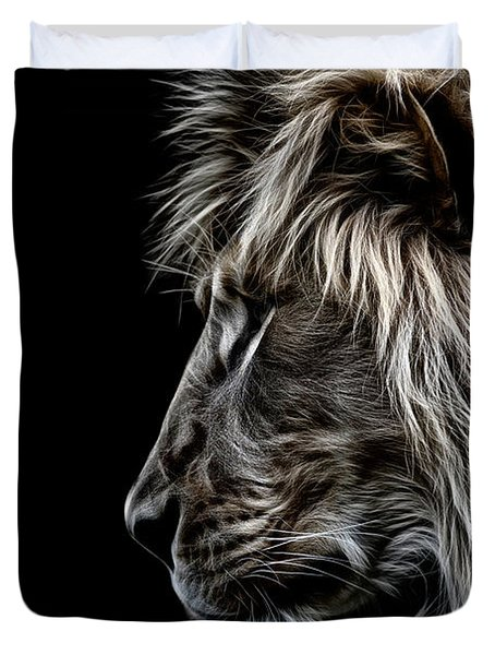 Profile Of A King Duvet Cover