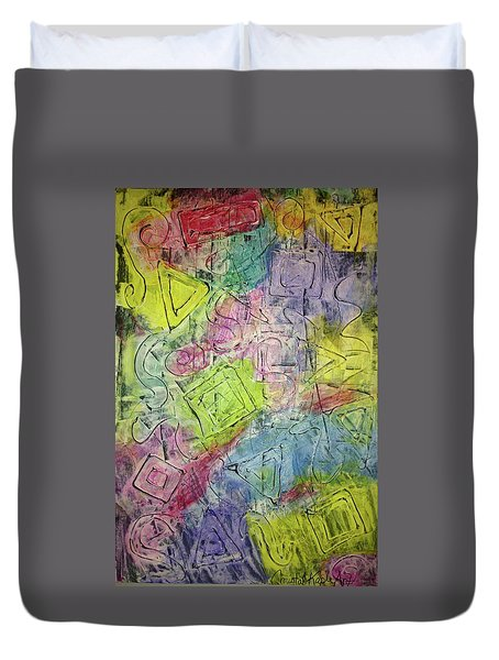 Progression Duvet Cover