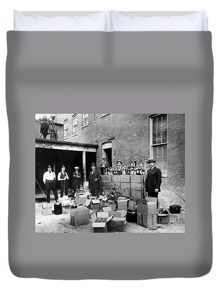 Prohibition, 1922 Duvet Cover