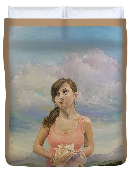 Promethea Duvet Cover