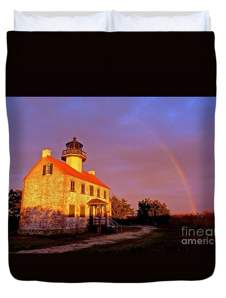 Promise  Duvet Cover by Nancy Patterson