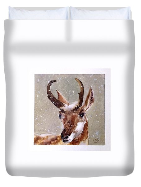 Pronghorn Duvet Cover