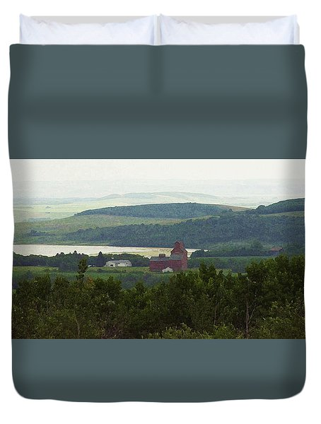 Prongy Hill Duvet Cover
