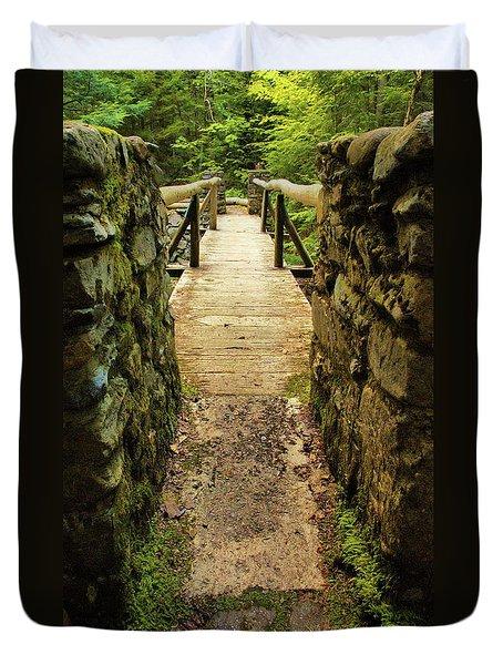 Prospective Memorial Bridge Duvet Cover