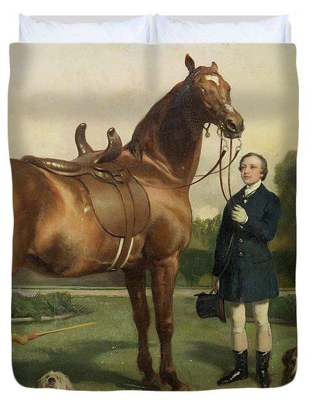 Prosperity Duvet Cover by Sir Edwin Landseer