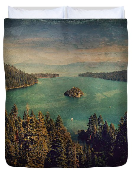 Protection Duvet Cover by Laurie Search