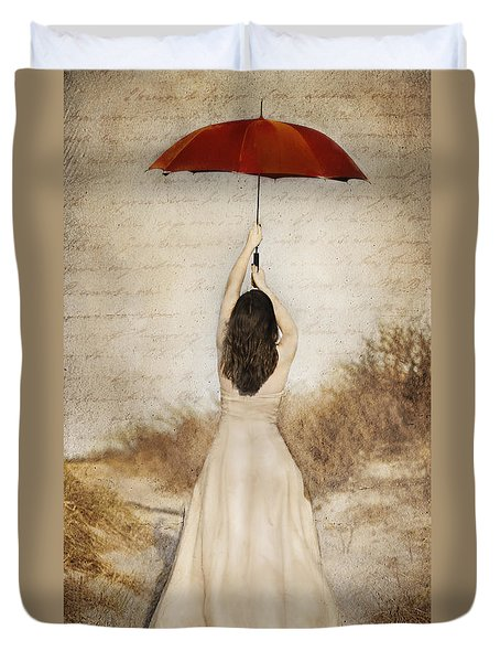 Protection Painted Lady Duvet Cover