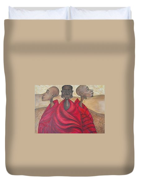 Protectors Duvet Cover by Jenny Pickens