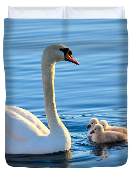 Proud Mother Duvet Cover