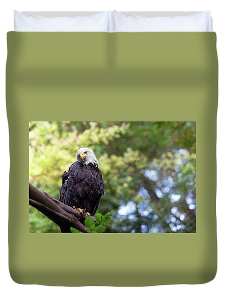 Duvet Cover featuring the photograph Proud by Rebecca Cozart