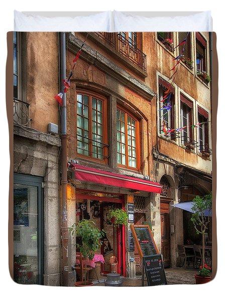 French Cafe Duvet Cover