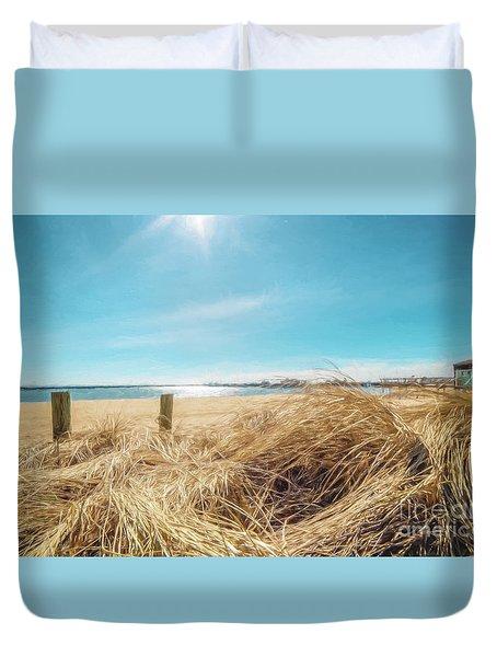 Provincetown Harbor Duvet Cover