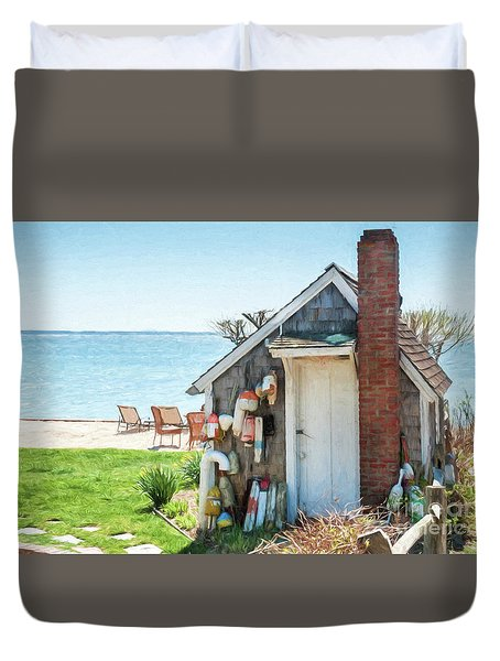 Provincetown Shed Duvet Cover