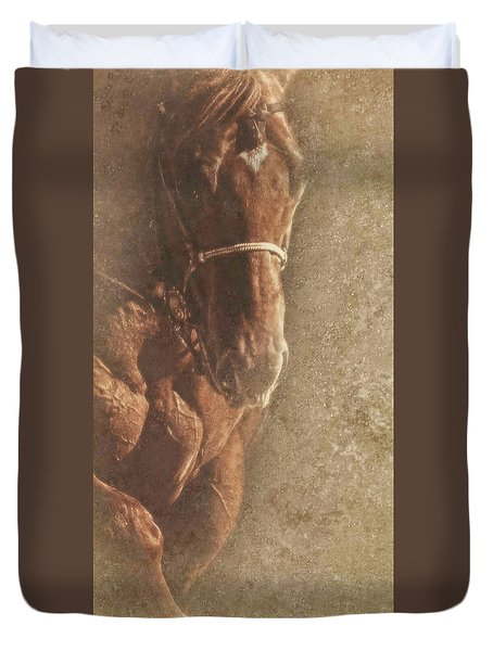 Prowess And Power Duvet Cover