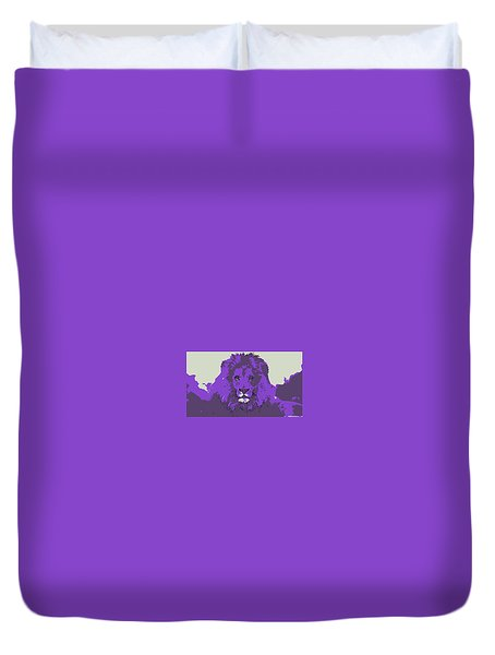 Pruple King Duvet Cover