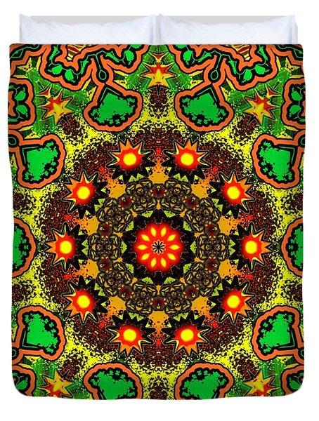 Psych Duvet Cover by Robert Orinski