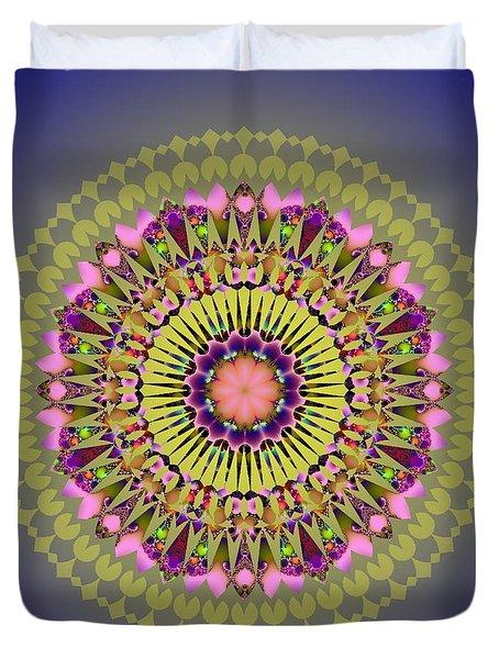 Psychedelic Mandala 001 A Duvet Cover