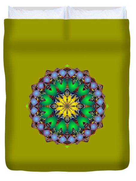 Psychedelic Mandala 003 A Duvet Cover