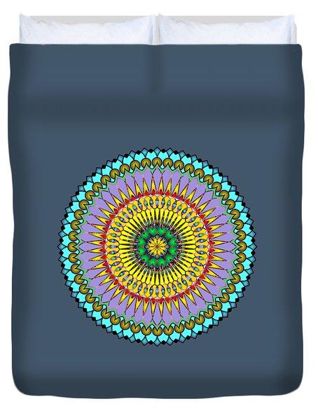 Psychedelic Mandala 005 A Duvet Cover