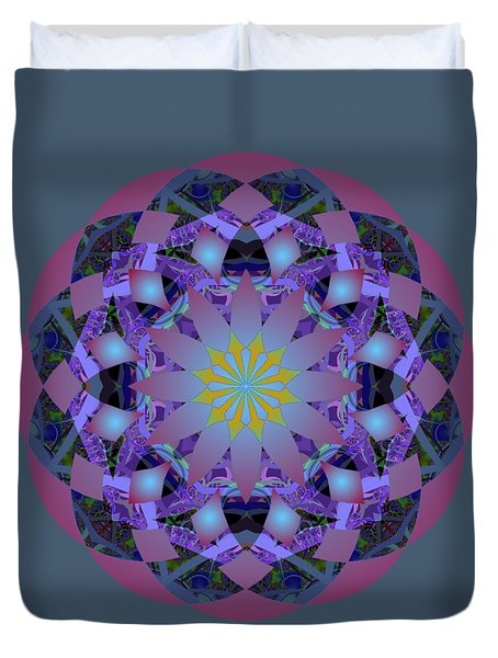 Psychedelic Mandala 006 A Duvet Cover