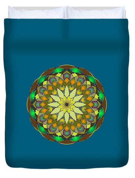 Psychedelic Mandala 008 A Duvet Cover