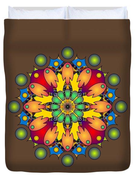 Psychedelic Mandala 009 A Duvet Cover