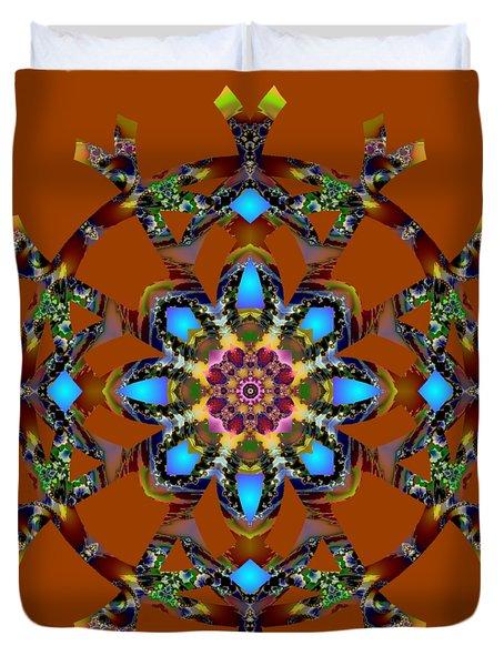 Psychedelic Mandala 010 A Duvet Cover
