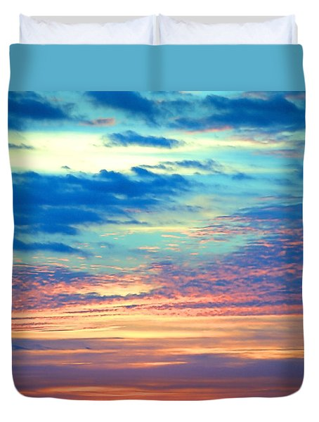 Psychedelic Duvet Cover by  Newwwman
