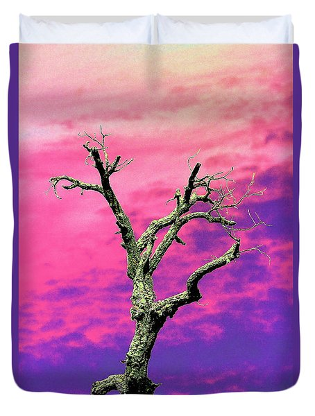 Psychedelic Tree Duvet Cover