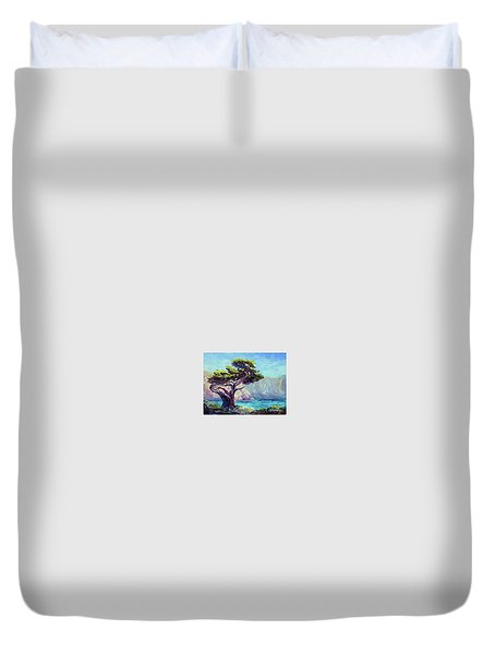 Pt. Lobos Beauty Duvet Cover