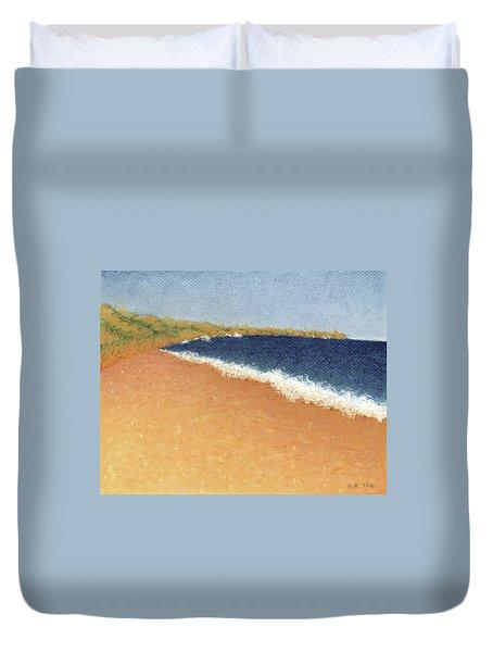 Pt. Reyes Beach Duvet Cover