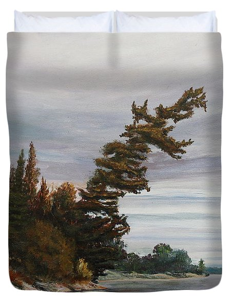 Ptarmigan Bay Duvet Cover
