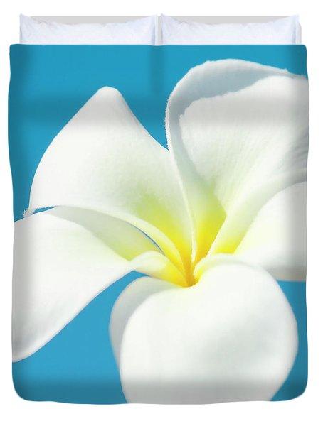 Duvet Cover featuring the photograph Pua Melia Pakahikahi by Sharon Mau