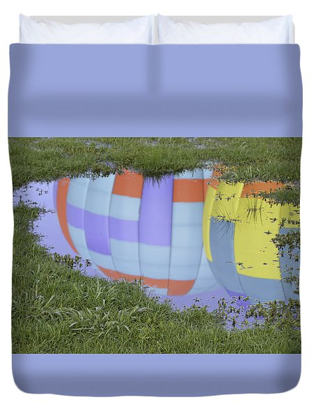Puddle Reflections Duvet Cover