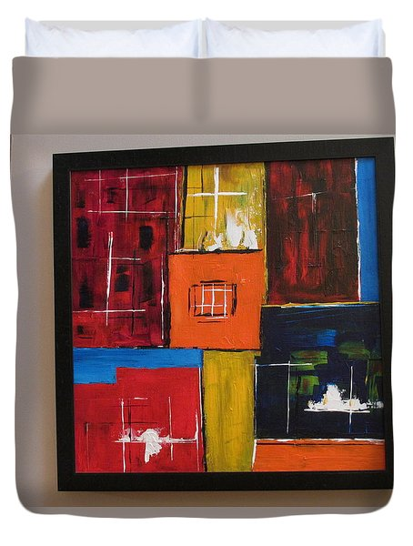 Pueblo Morning Duvet Cover by Sharyn Winters