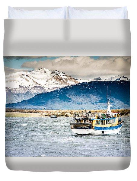 Puerto Natales Patagonia Chile Duvet Cover