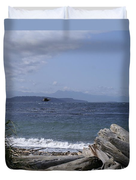 Puget Sound Duvet Cover
