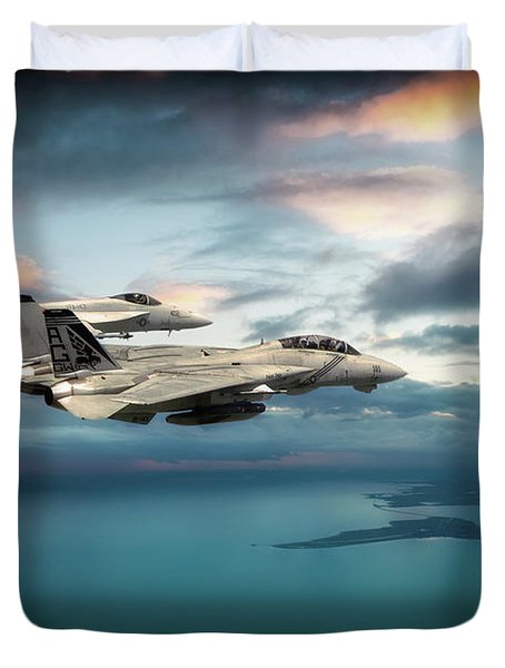 Pukin Dogs Duvet Cover