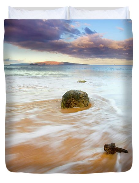 Pulled To The Sea Duvet Cover