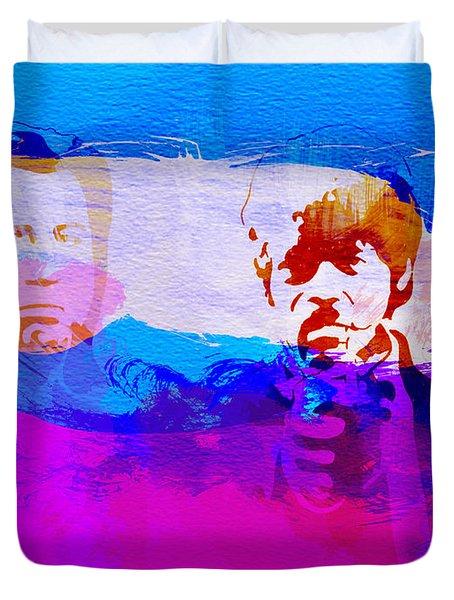 Pulp Fiction Duvet Cover by Naxart Studio