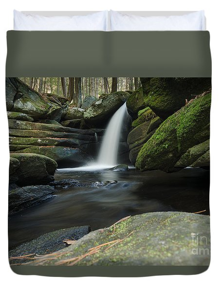 Pulpit Falls View Duvet Cover
