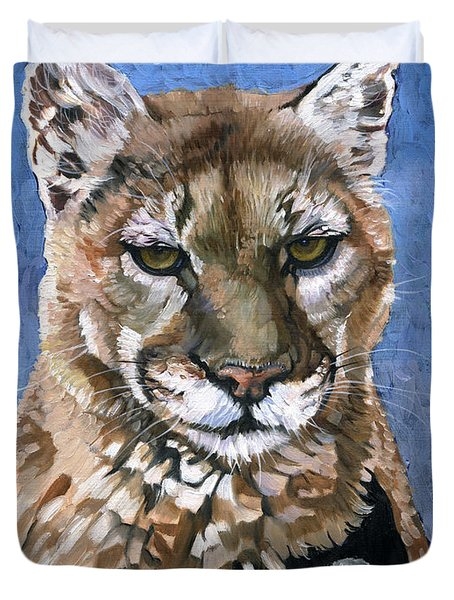 Puma - The Hunter Duvet Cover