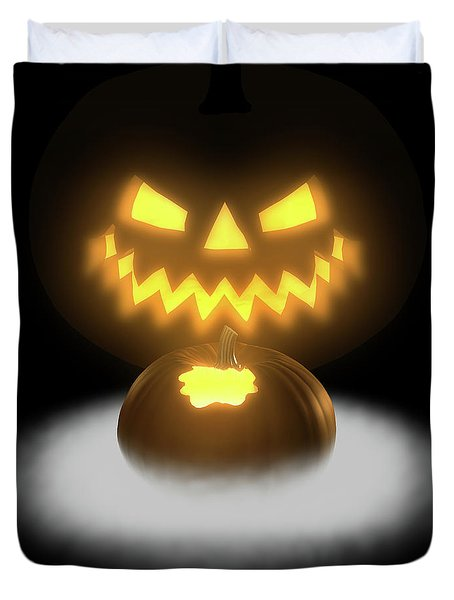 Pumpkin And Co II Duvet Cover