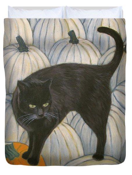 Pumpkin Keeper Duvet Cover