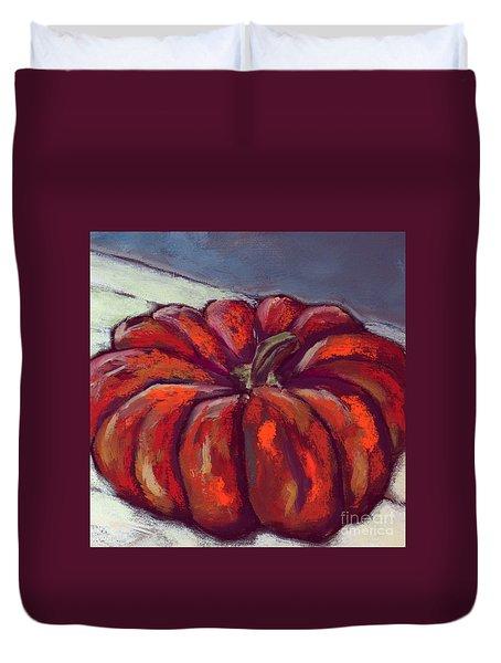 Pumpkin No 2 Duvet Cover