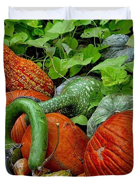 Pumpkin Patch Duvet Cover