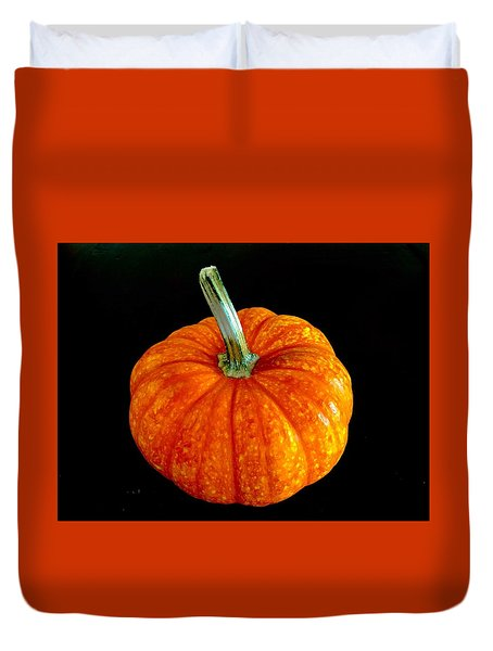 Pumpkin Duvet Cover by Russell Keating